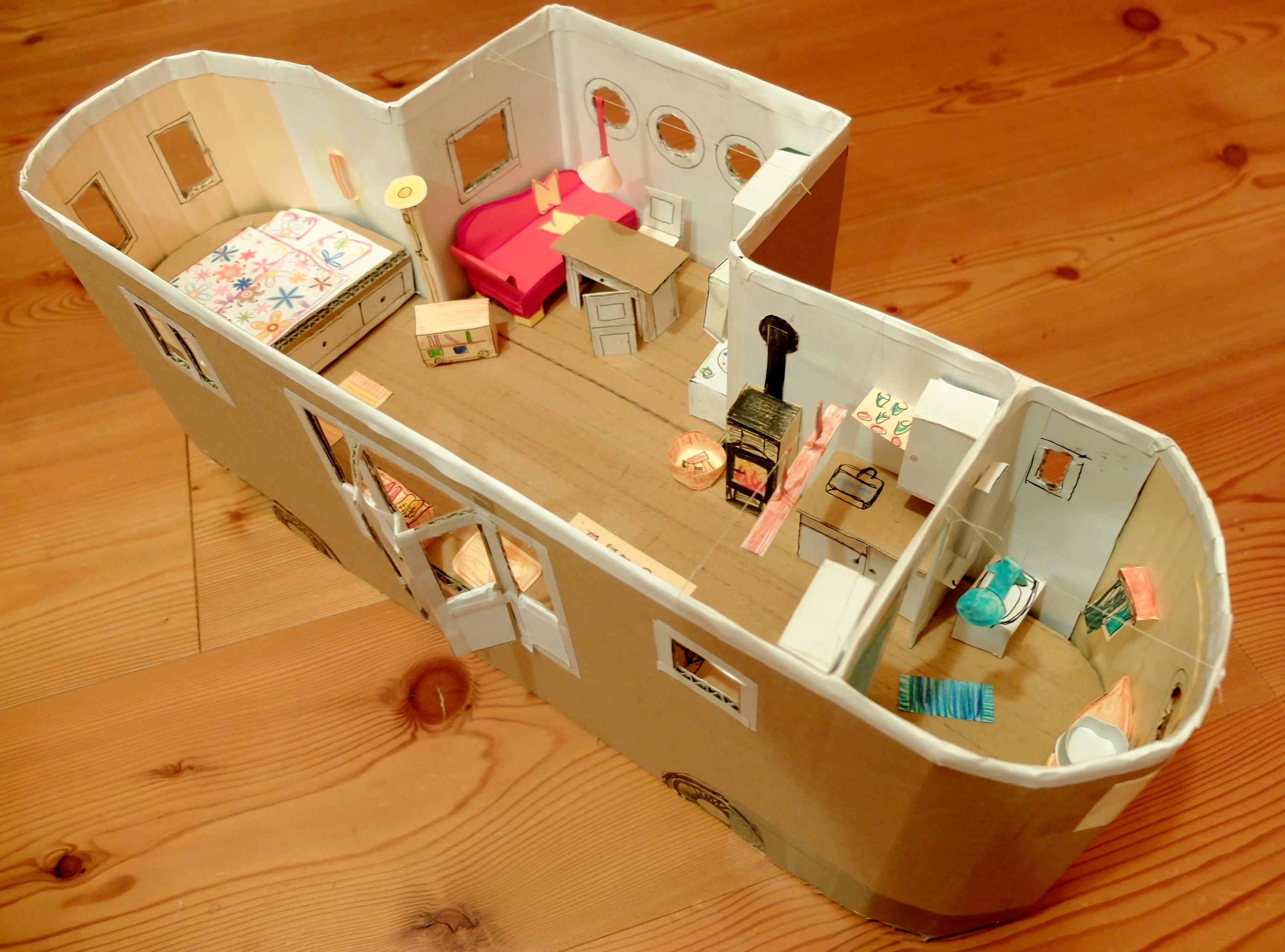 Der Wohnwagon Ananda - Modell